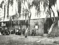Die eerste Abraham Kriel kinderhuis in Langlaagte 1902 k