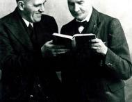 Louis Leipoldt en JFE Celliers klein