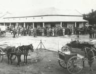 Sanlam se eerste takkantoor te Moorreesburg - geopen 1 Junie 1918 k