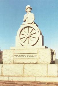 Standbeeld van Pretorius, langs die hoofpad na Middelburg (Kaap), ongeveer 2 km vanaf Graaff-Reinet geleë
