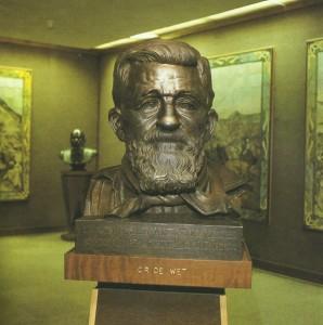 Die borsbeeld in die Oorlogsmuseum