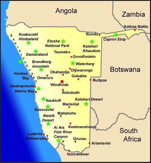 namibië | suidwes-afrika