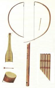 Afrikanergeskiedenis KOINA MUSIEKINSTRUMENTE Le Vaillant 1780's