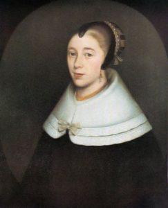 Maria de la Queillerie, 1650, geskilder deur Dirck Craey