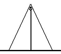 Figuur 1. Die gaffelsuilondersteunde-nokpaalkonstruksie. Tekening: H. Raath